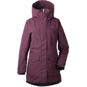 Didriksons 1913 Frida Parka Women Wine Red